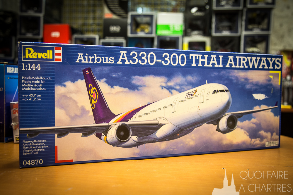 Maquette Airbus A330-330 Thai Airways