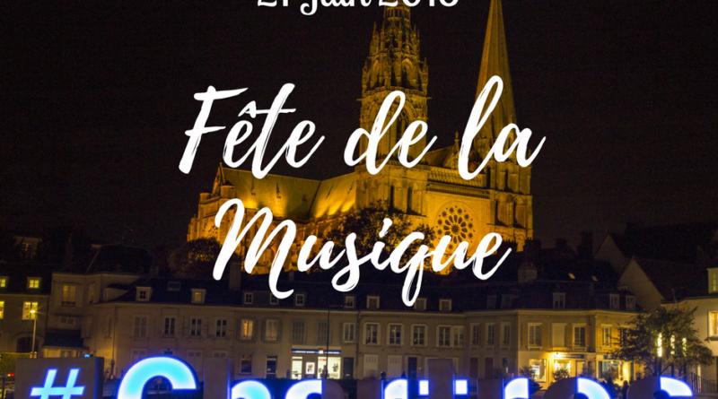 visuel de la fete de la musique de Chartres