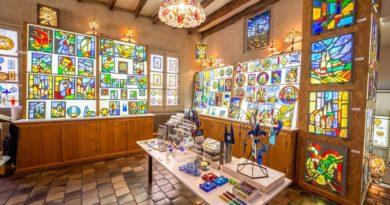 la galerie du vitrail de Chartres