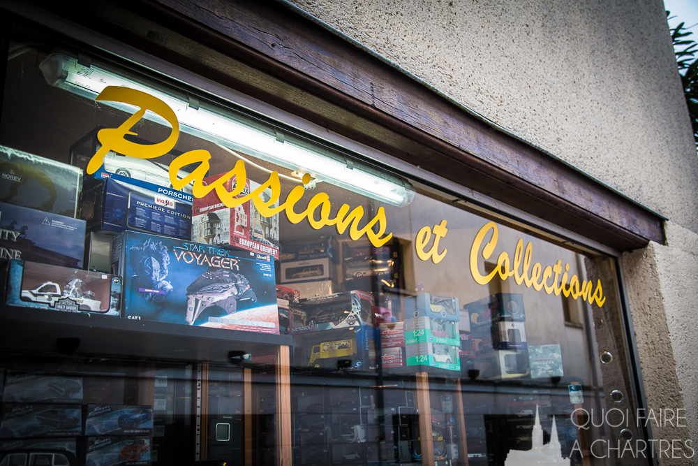 Vitrine Passions et collections chartres